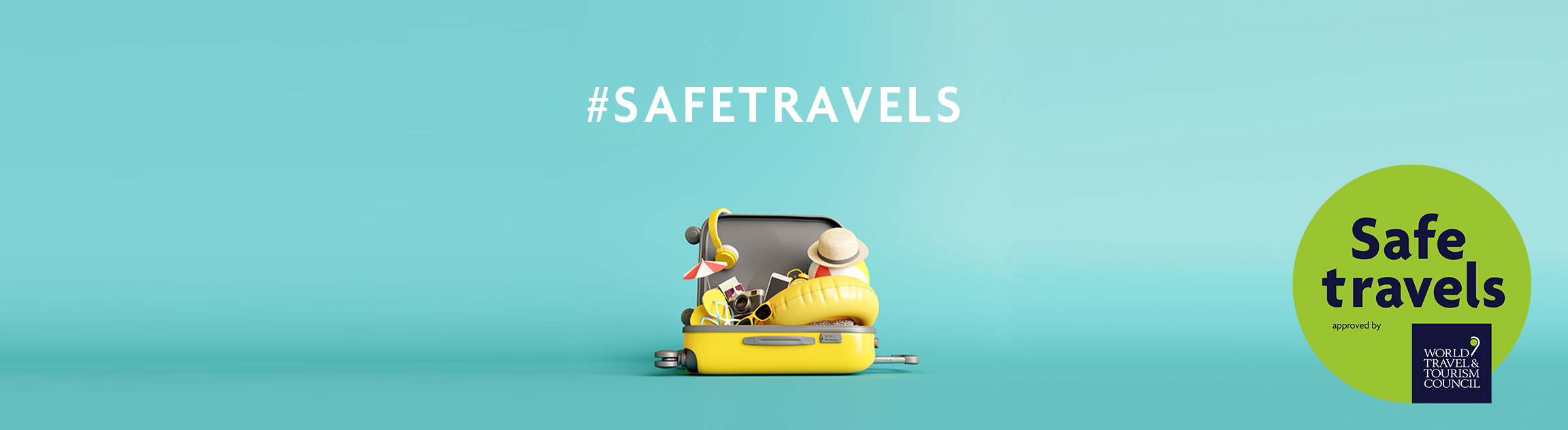 SafeTravels with stamp